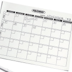 Erasable Calenders