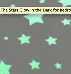 glow in th dark stars