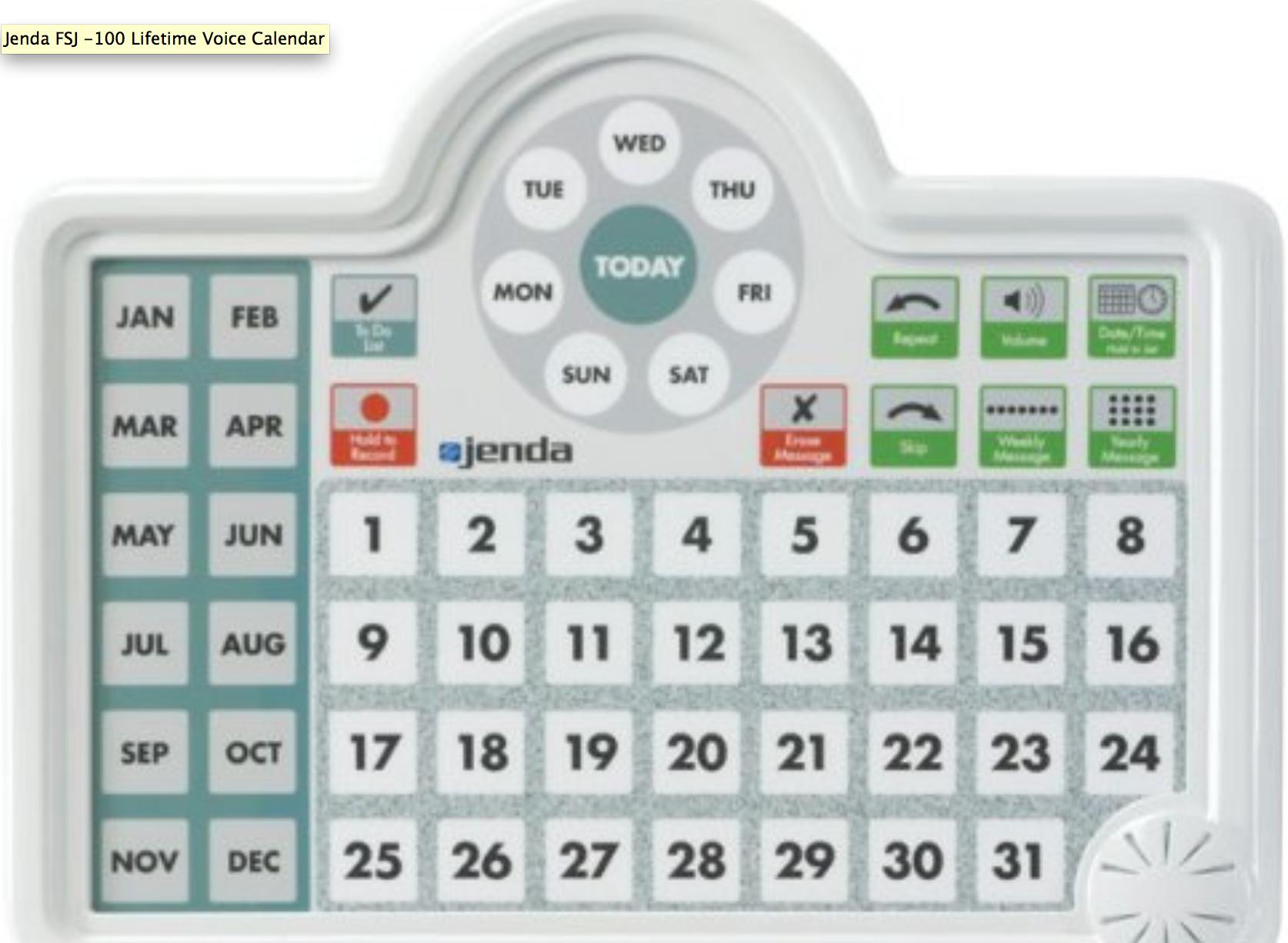 Talking Calendars Good Gifts For Senior Citizens