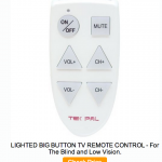 Large Button TV Remotes