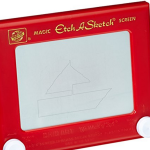 Etch A Sketch Retro Game