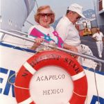 elderly people on a cruise