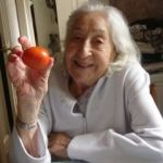 94 year old with tomato