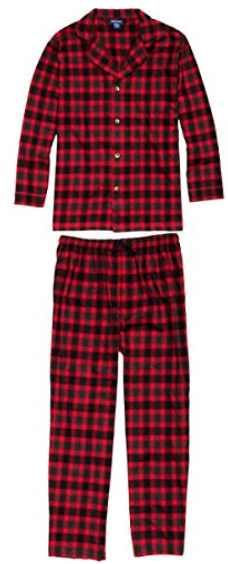 Red Pajamas For Men - Good Gifts For Senior Citizens
