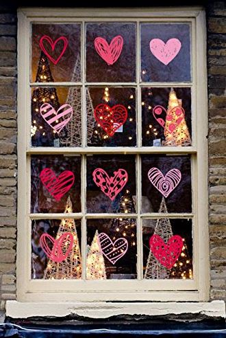 Valentine S Day Window Clings Good Gifts For Senior Citizens