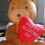 valentines day inflatables