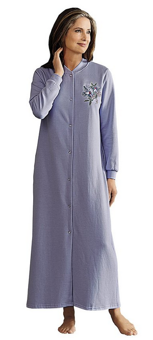 Snap Front Robes - Good Gifts For Senior Citizens 22065d465