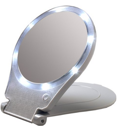 Lighted Compact Mirrors Good Gifts For Senior Citizens