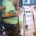 94 year old woman with broken hip