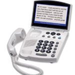 Captioning Phone For The Hearing Impaired