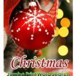 Large Print Christmas Word Search Puzzles