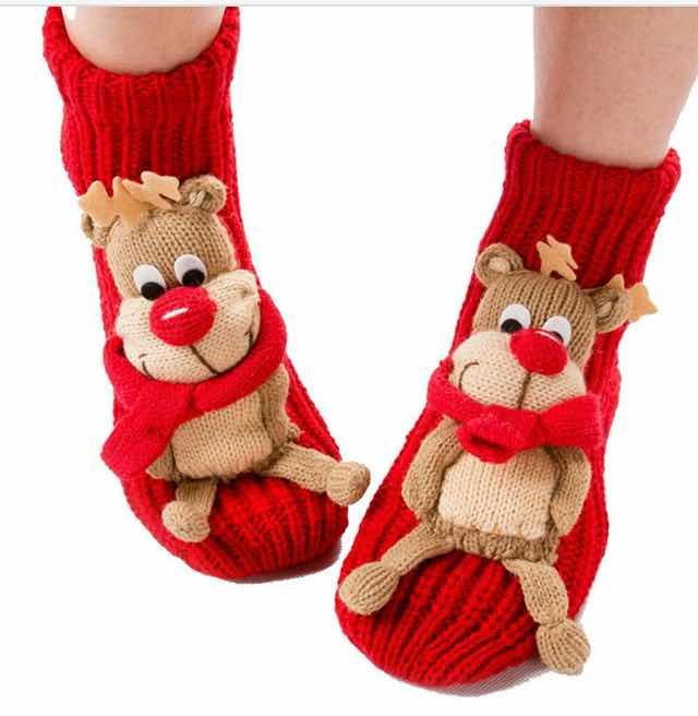 Christmas Socks For Women Good Gifts For Senior Citizens