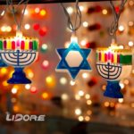 hanukkah decorations for a senior citizen
