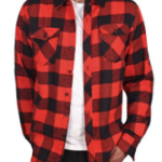Red Flannel Shirts For Men