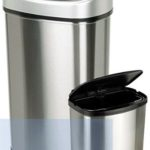Motion-Sensor Trash Cans