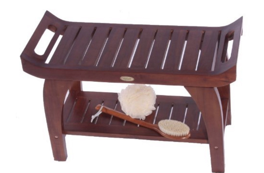 Teak Shower Benches Good Gifts For Senior Citizens