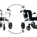Rollator And Transport Chair Combos