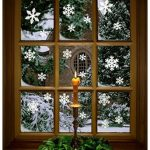 christmas window clings perfect for nursing home