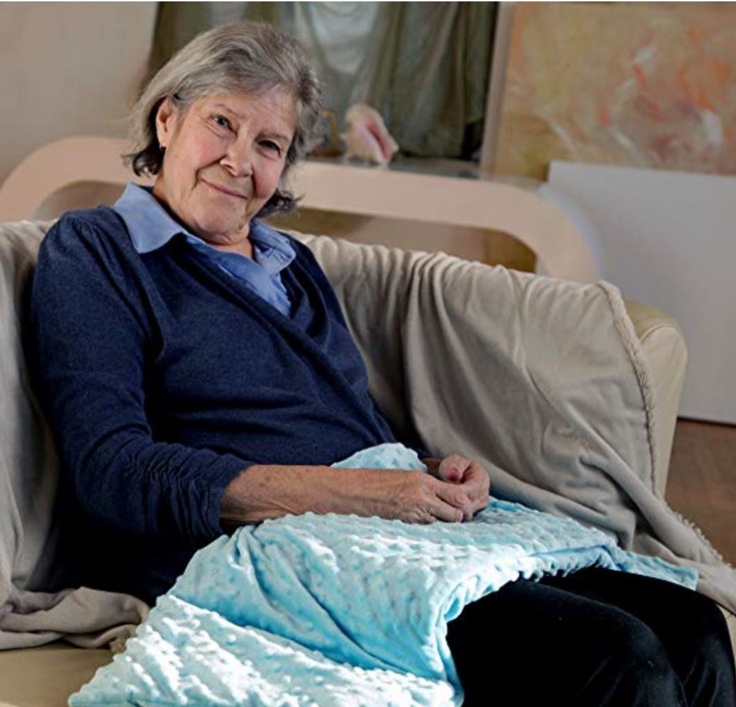 Weighted Blankets Good Gifts For Senior Citizens